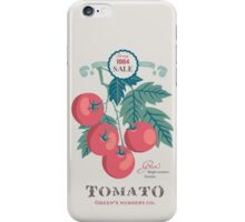 Veg Love Collection No.5 Tomato iPhone Case/Skin