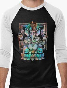 Cosmic Ganesh Men's Baseball ¾ T-Shirt