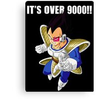 It's over 9000 Canvas Print