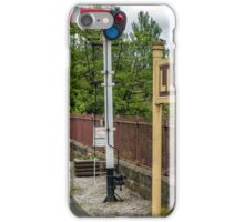 Llangollen Railway Station iPhone Case/Skin