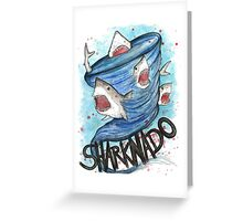 Sharknado Greeting Card