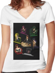 Clue Movie Women's Fitted V-Neck T-Shirt