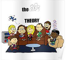 The Big Bang Theory Peanuts Poster