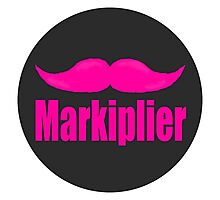 Markiplier's mustache Photographic Print