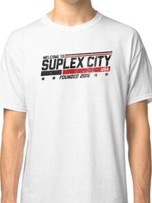 SUPLEX CITY, USA - Black Classic T-Shirt