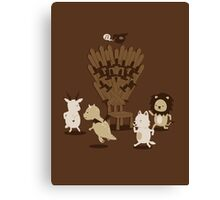 Game Of Musical Thrones Canvas Print