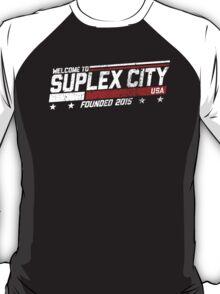 SUPLEX CITY, USA - White T-Shirt