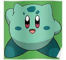 Bulbasaur Kirby Poster