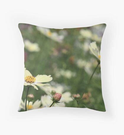call from us Throw Pillow