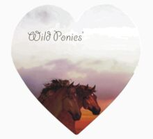 Wild ponies'... Kids Clothes