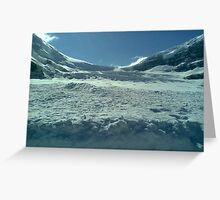the icefields canada Greeting Card