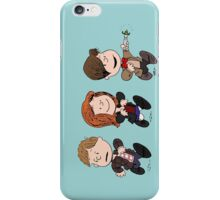 Doctor Who & Amy Comic Peanuts iPhone Case/Skin