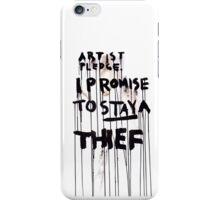 ARTIST PLEDGE iPhone Case/Skin