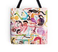 Yoga Morning Tote Bag