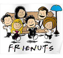 Friends Peanuts Comic Poster