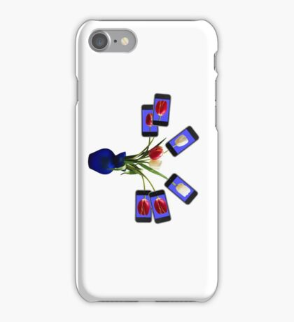 iphone flowers in vase horizontal iPhone Case/Skin