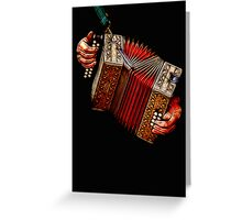 Squeezebox No 2  Greeting Card