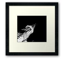 Beacon in the Dark Framed Print