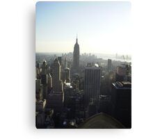 new york from a high Canvas Print