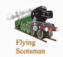 The Flying Scotsman with Blinkers T-shirt Kids Clothes