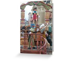 disneys pinocchio Greeting Card