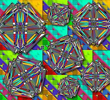 """""""Turán Graphs""""© by Lisa Clark for Thinker Collection - STEM Art"""
