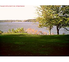 A View of the Hudson River From Clermont Photographic Print