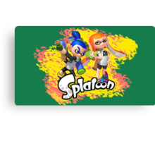 Splatoon Inklings Canvas Print