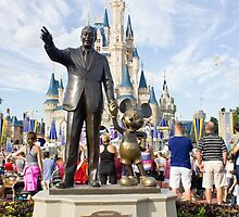 Walt and Mickey by mchalephoto