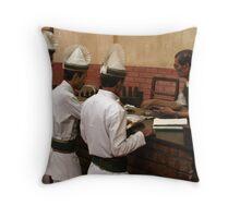Calcutta Chai Throw Pillow