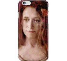 Melancholy rose iPhone Case/Skin