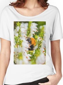 Tree Bumble Bee Women's Relaxed Fit T-Shirt