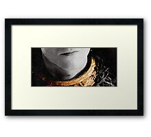 Loki's Collar Framed Print