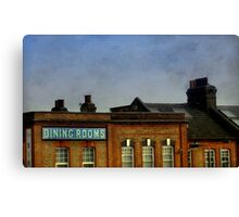 Dining Rooms Canvas Print