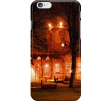 Ecclesfield Church at Night iPhone Case/Skin