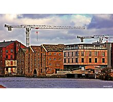 Buildings + Crane Photographic Print