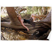 Nature Goddess Poster
