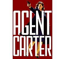 Name? Agent. Photographic Print