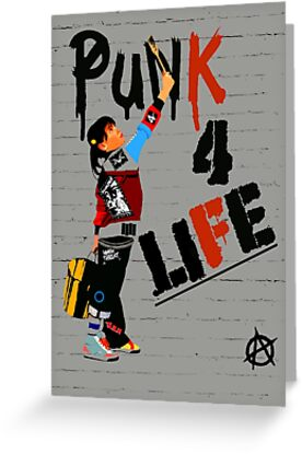 "Punky ""Punk 4 Life"" Brewster by Faction"