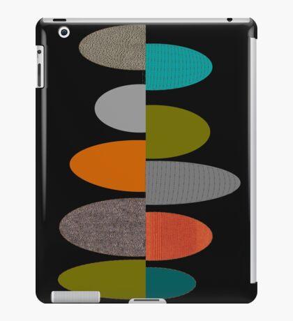 Mid-Century Modern Ovals iPad Case/Skin