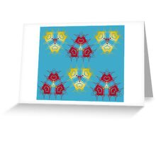 Triangle Connection Greeting Card