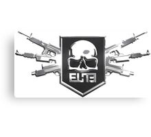 Elite Guns Canvas Print