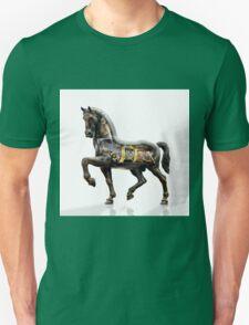Leonardo da Vinci mechanized horse. Unisex T-Shirt