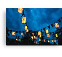 Tangled Lanterns Canvas Print