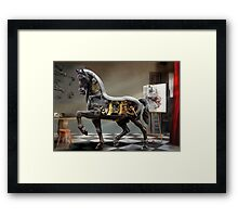 In Studio. Framed Print
