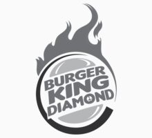 Burger King Diamond Black & White by canossagraphics