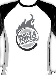 Burger King Diamond Black & White T-Shirt