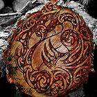 Manaia Wood Burning by Revolution Aotearoa