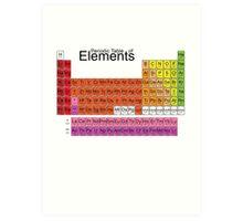 Chemistry Art Print