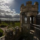 A gate tower in Coughton court by jasminewang